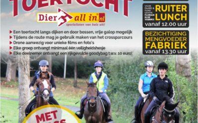 Voor de Liefhebbers Paarden Toertocht te Vollenhove!